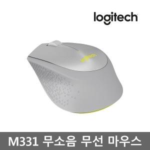 로지텍코리아 M331 무선 무소음 마우스(그레이)
