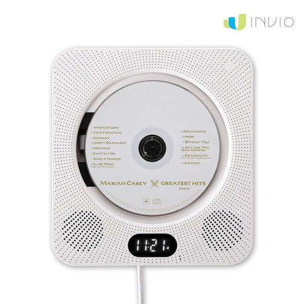 인비오 WM-01BT 벽걸이용 CD DVD 블루투스 플레이어