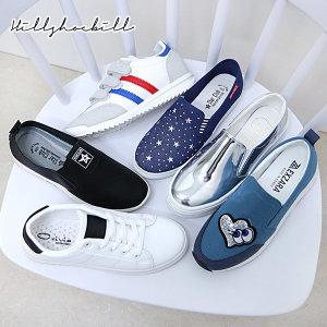 신상 슬립온 스니커즈 통굽 키높이 운동화 커플 신발