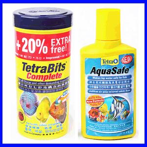 테트라 사료모음/열대어/비트/민/구피/물관리용품