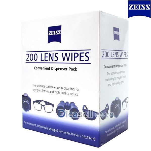 자이스 렌즈클리너 200매 안경 선글라스 스마트폰액정