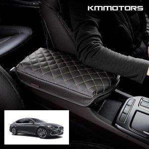 (KMMOTORS) 그랜져IG 맞춤전용 퀼팅 팔쿠션/차량용 팔걸이 쿠션