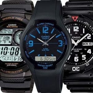 카시오 전자손목시계 남성여성 스포츠방수 군인군용