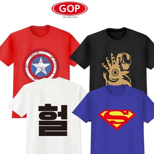 BATNANTEE 베트맨티 체육대회단체티 반티 반팔티-GOP