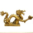 용동상 용소품 용조각상 용조각 용장식 금빛 용신좌
