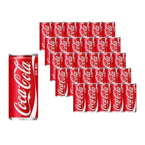 코카콜라 215ml   30캔 캔콜라 탄산음료