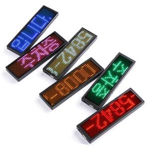 무극성 LED주차번호판 미니전광판  5V-12V Free볼트