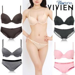 비비안외빅사이즈브라팬티세트/A-F컵/여성/여자속옷