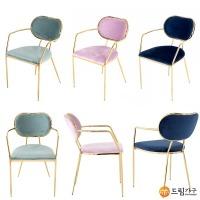 DRS253 골드체어시리즈/디자인의자/카페의자/예쁜의자