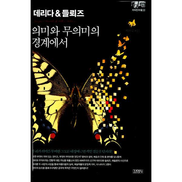 데리다   들뢰즈 - 의미와 무의미의 경계에서  김영사   박영욱