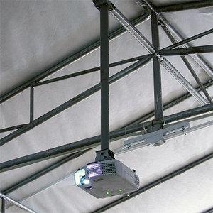 3m 빔프로젝터 긴 봉브라켓 빔프로젝트 3미터 거치대