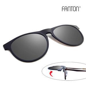 (FANTON(팬톤)) 팬톤 FANTON 편광 클립선글라스 FU05_실버 미러