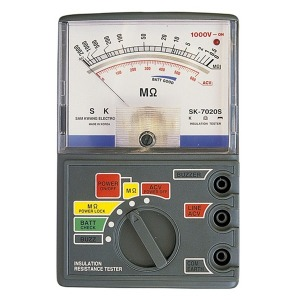 SK-7010S 절연저항계/절연 테스터기/누전측정기/매가