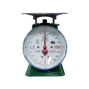 태광 지시 저울 2kg~50kg 국내생산 바늘 저울 시장