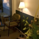 LED 미니아일랜드 장스탠드 +LED램프 전구색
