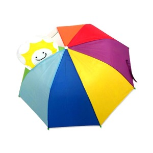 3D 입체아동캐릭터우산 무지개/어린이우산/아동우산