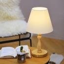 비숍 단스탠드 (네츄럴) + LED램프 전구색(사은증정)