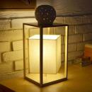 콰트로 단스탠드 (네츄럴) + LED램프 전구색