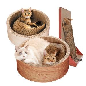 고양이스크래쳐 가리가리 빅써클 모던캣 용품 장난감