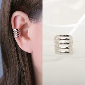 귀찌 이어커프 레이어 귀걸이 실리콘 클립형 나사형 29