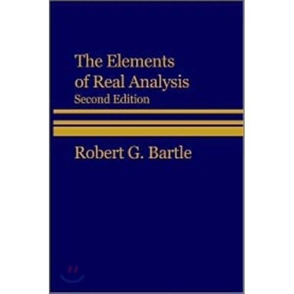 Elements of Real Analysis 2 E  Robert G  Gardner Bartle