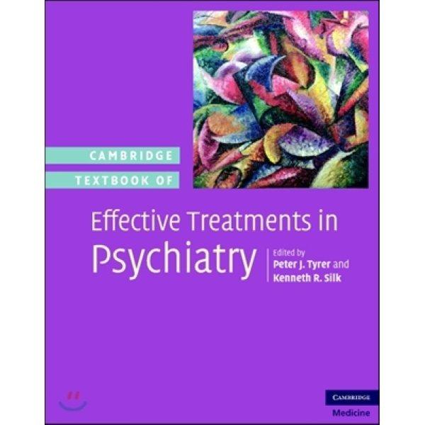 Cambridge Textbook of Effective Treatments in Psychiatry  Tyrer