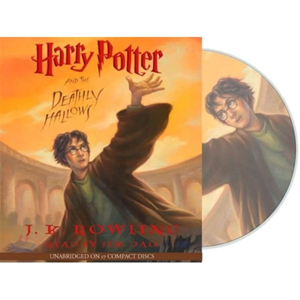 Harry Potter and the Deathly Hallows : Audio CD  J K  Rowling  Jim Dale (NRR)