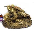 왕 금원보 삼족두꺼비 특대 복두꺼비 풍수지리소품
