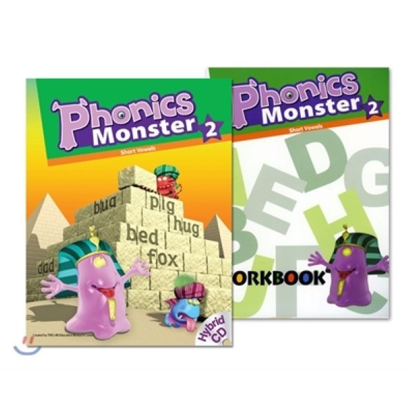 Phonics Monster 2 : Student Book + Workbook  편집부