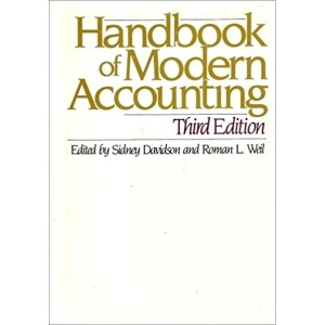 영문도서Handbook of Modern Accounting