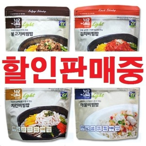 더온비빔밥 김병장전투식량불로비상식량 간편식즉석밥