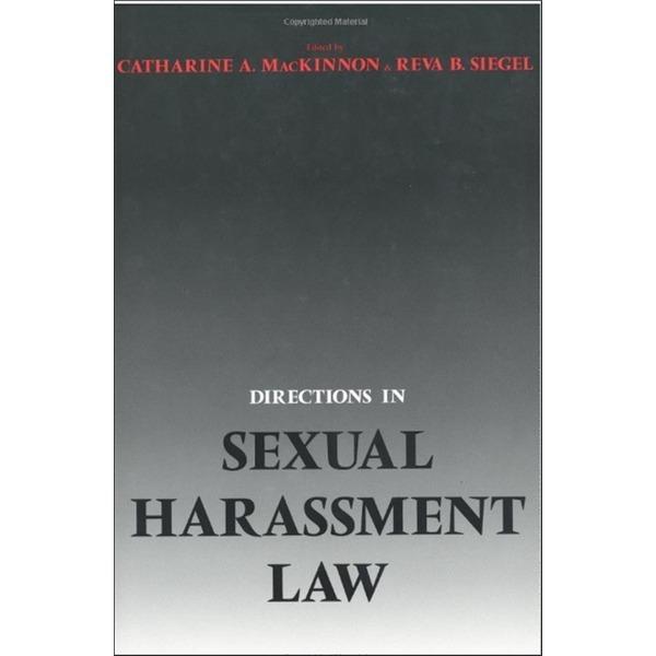 영문서적Directions in Sexual Harassment Law