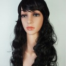 블랙 긴머리가발 여자가발 웨이브가발 파마가발