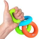 실리콘 악력기 완력기 손목근력 운동기구 S그립 오렌지
