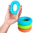 실리콘 악력기 완력기 손목근력 운동기구 L그립 블루