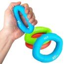 실리콘 악력기 완력기 손 손목 근력운동 커브그립 블루