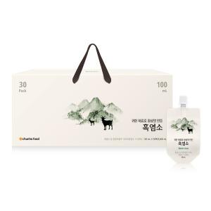 흑염소한마리 흑염소엑기스 자사판매1위 100ml x 30팩