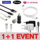 1+1 이벤트 / 정품 스마트폰 충전기 및 케이블 모음전