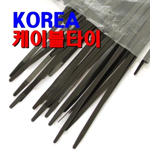 한올 케이블타이 / 100mm 전선타이 선정리 타이밴드