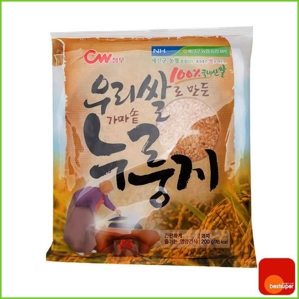 스낵/우리쌀/가마솥누룽지/200gx15봉