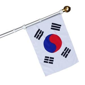 3단접이식 태극기 SET ( 태극기+깃대+보관함+꽂이)YH