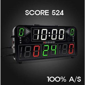 당일출고 SCORE 524P 전자점수판 (A/S 100%)가방포함