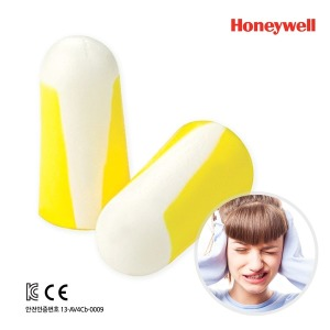 허니웰 100쌍 소음방지귀마개 안전귀마개 청력보호