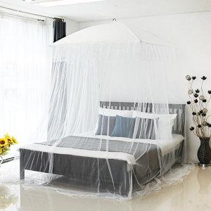 모던 럭셔리프릴 캐노피 모기장 유럽풍 퀸 침대형