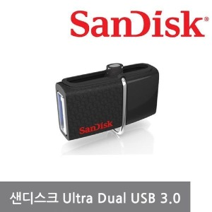 샌디스크 울트라 듀얼 USB3.0 64GB OTG메모리 미니유