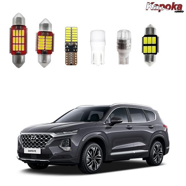 + 싼타페TM 전용 LED 실내등 / 번호판등 트렁크등