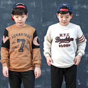 초등학생옷/봄신상/맨투맨티/주니어의류/단체복