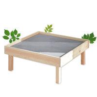 편백나무 접이식 레고테이블 4인용