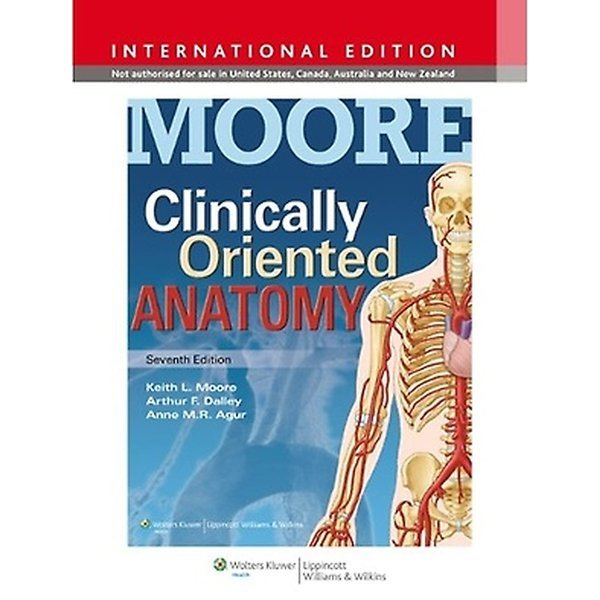 MOORE Clinically Oriented Anatomy (Paperback / 7th