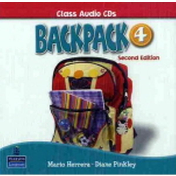 Backpack 4 : Audio CD (2nd Ed./ 도서별매)